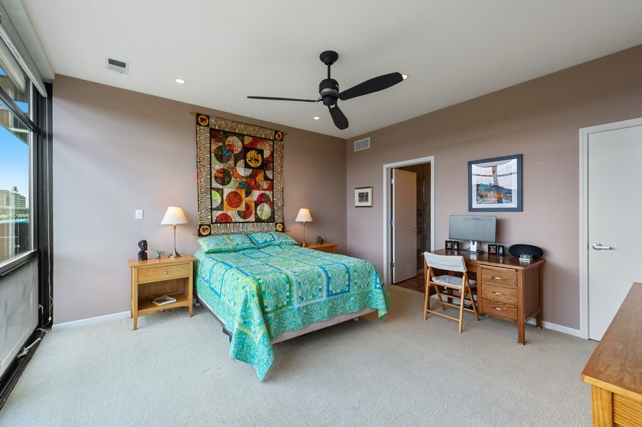 Real Estate Photography - 1070 W. 15th Street, Unit 345, Chicago, IL, 60608 - Master Bedroom