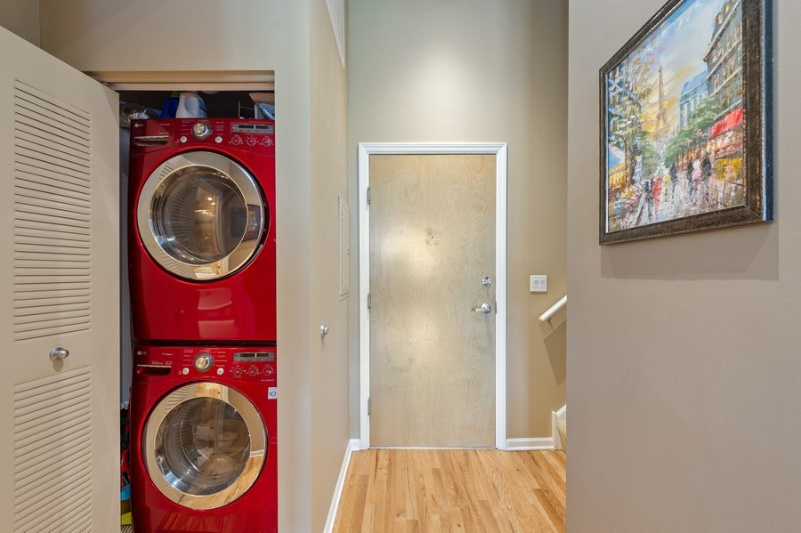 Real Estate Photography - 1070 W. 15th Street, Unit 345, Chicago, IL, 60608 - Laundry Room