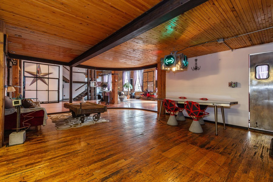 Real Estate Photography - 407 N. Elizabeth St Unit 104, Chicago, IL, 60642 - Dining Room