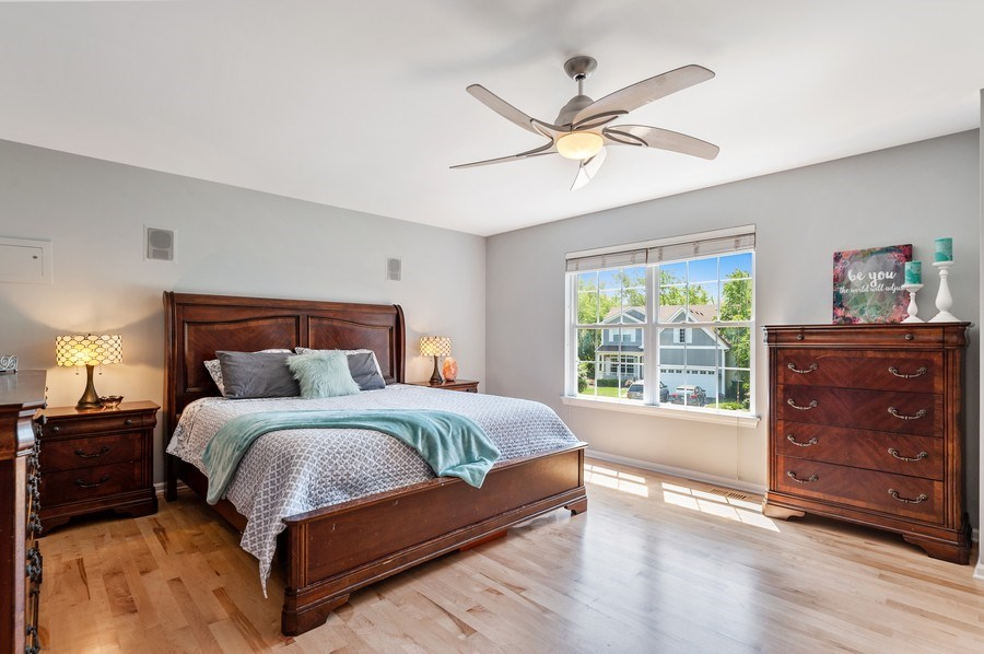 Real Estate Photography - 410 Jackson, Grayslake, IL, 60030 - Master Bedroom