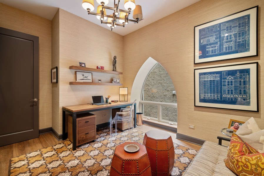 Real Estate Photography - 3101 N. Seminary C, Chicago, IL, 60657 - 2nd Bedroom