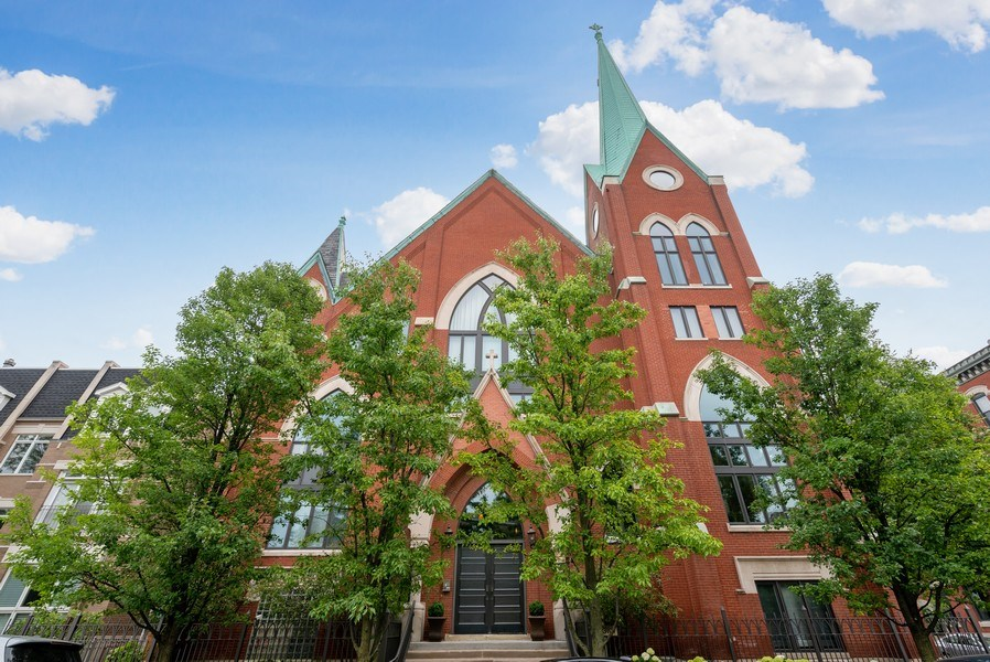 Real Estate Photography - 3101 N. Seminary C, Chicago, IL, 60657 - Front View