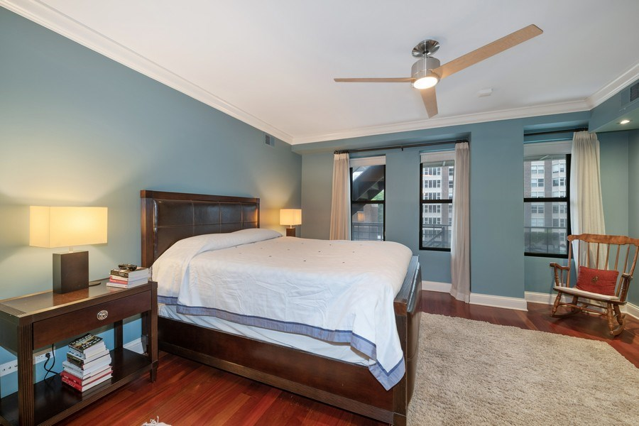 Real Estate Photography - 506 W Roscoe, #302, Chicago, IL, 60657 - Master Bedroom