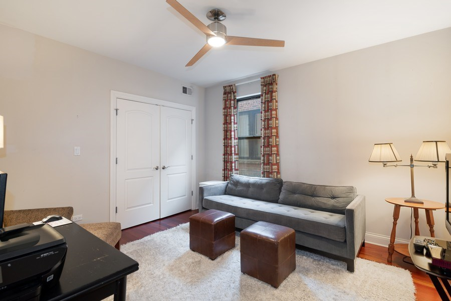 Real Estate Photography - 506 W Roscoe, #302, Chicago, IL, 60657 - 3rd Bedroom
