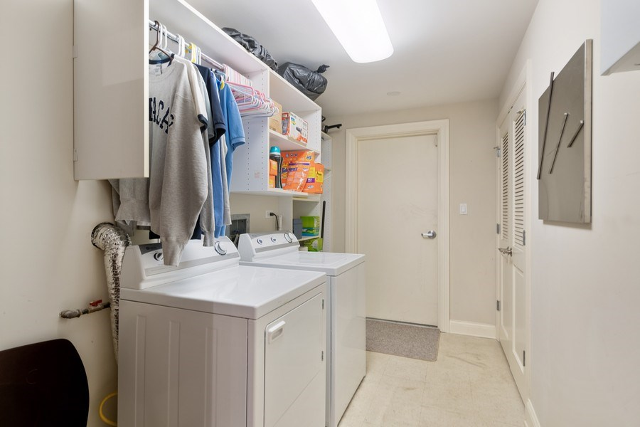 Real Estate Photography - 506 W Roscoe, #302, Chicago, IL, 60657 - Laundry Room