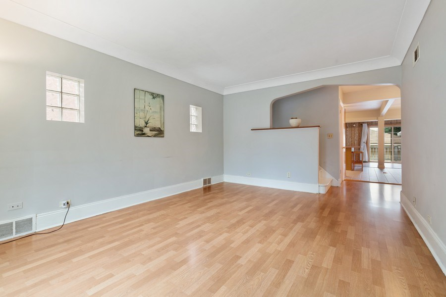 Real Estate Photography - 5405 W Hutchinson St, Chicago, IL, 60641 - Living Room