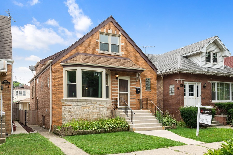 Real Estate Photography - 5405 W Hutchinson St, Chicago, IL, 60641 - Front View