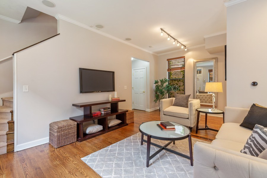 Real Estate Photography - 2826 N. Orchard Street, Chicago, IL, 60657 - Living Room