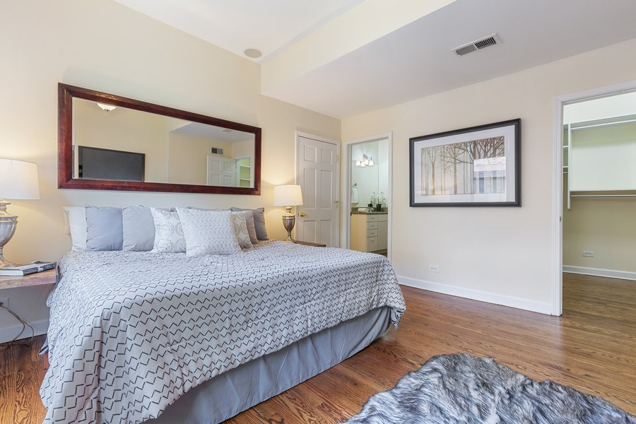 Real Estate Photography - 2826 N. Orchard Street, Chicago, IL, 60657 - Master Bedroom