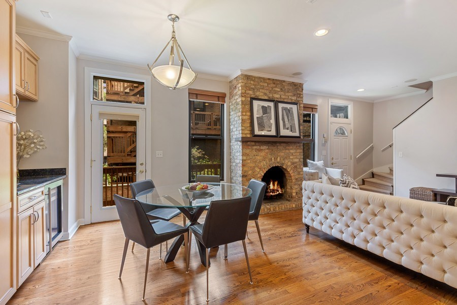 Real Estate Photography - 2826 N. Orchard Street, Chicago, IL, 60657 - Dining Room