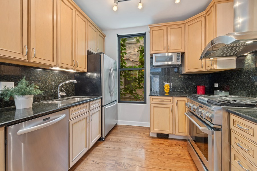 Real Estate Photography - 2826 N. Orchard Street, Chicago, IL, 60657 - Kitchen