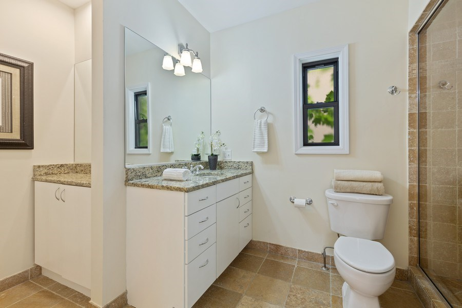 Real Estate Photography - 2826 N. Orchard Street, Chicago, IL, 60657 - Master Bathroom