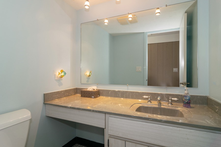 Real Estate Photography - 431 N Regal Ct., Addison, IL, 60101 - Half Bath