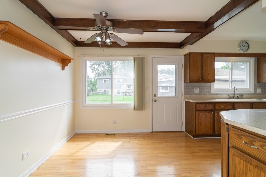 Real Estate Photography - 431 N Regal Ct., Addison, IL, 60101 - Breakfast Nook