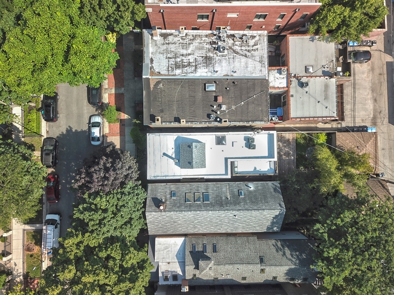 Real Estate Photography - 2237 N. Magnolia Ave., Chicago, IL, 60614 - Aerial View