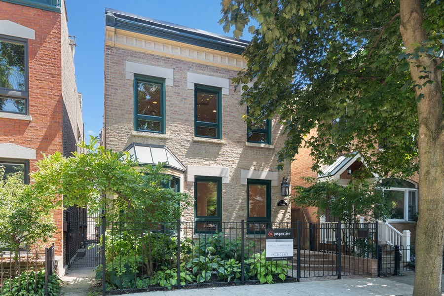 Real Estate Photography - 2237 N. Magnolia Ave., Chicago, IL, 60614 - Front View