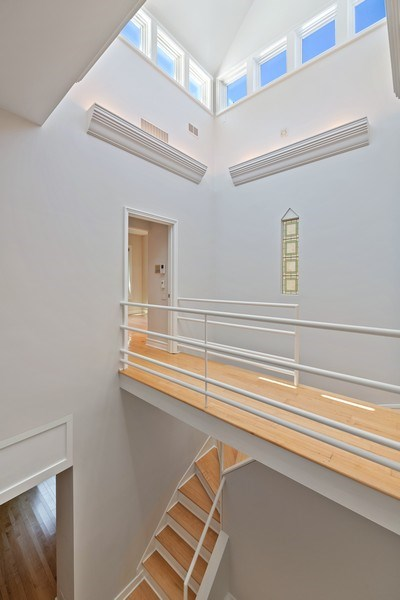 Real Estate Photography - 2237 N. Magnolia Ave., Chicago, IL, 60614 - Staircase