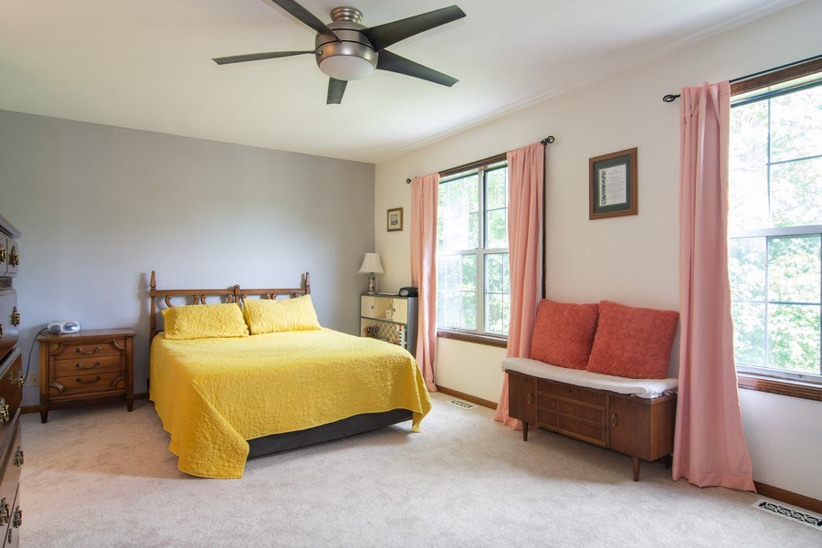Real Estate Photography - 76 Ivanhoe Lane, Cary, IL, 60013 - Master Bedroom