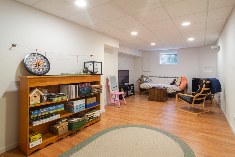 Real Estate Photography - 76 Ivanhoe Lane, Cary, IL, 60013 - Basement