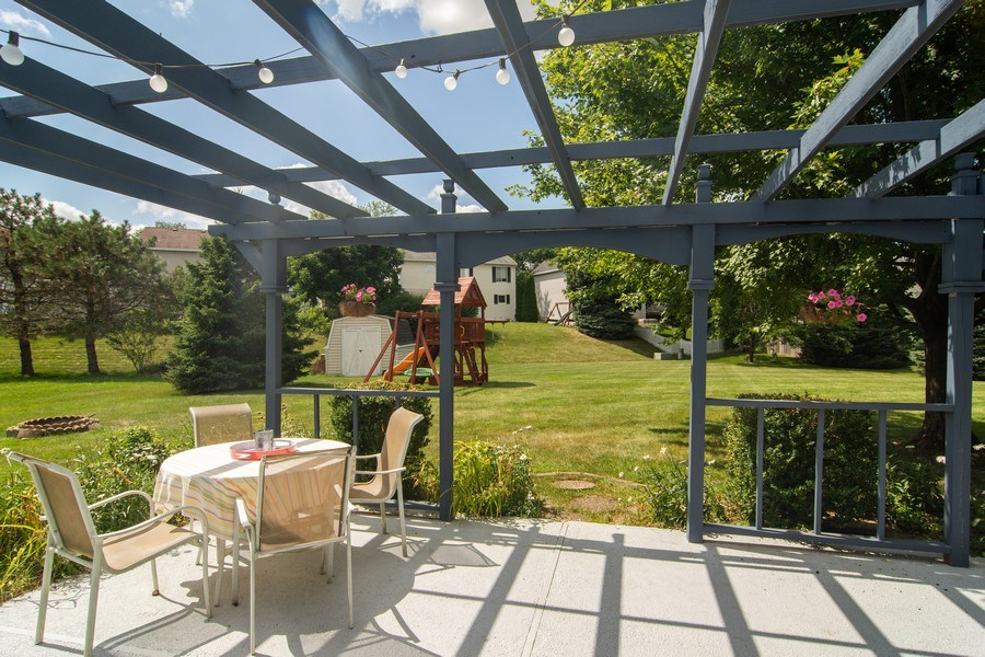 Real Estate Photography - 76 Ivanhoe Lane, Cary, IL, 60013 - Patio