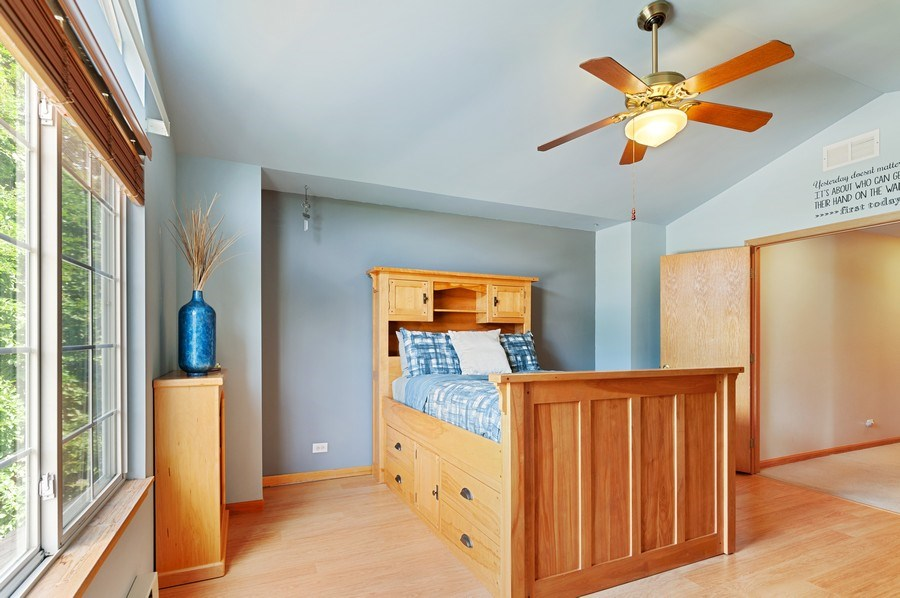 Real Estate Photography - 1448 Somerset, Mundelein, IL, 60060 - 3rd Bedroom