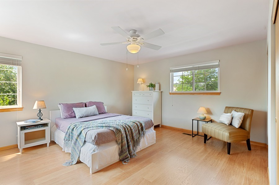 Real Estate Photography - 1448 Somerset, Mundelein, IL, 60060 - 4th Bedroom