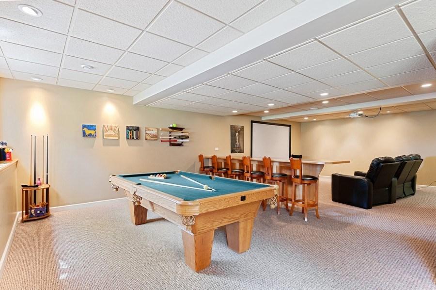 Real Estate Photography - 1448 Somerset, Mundelein, IL, 60060 - Gameroom