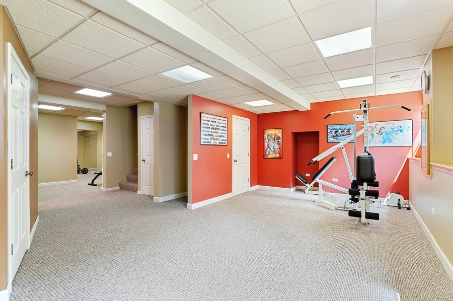 Real Estate Photography - 1448 Somerset, Mundelein, IL, 60060 - Exercise Room