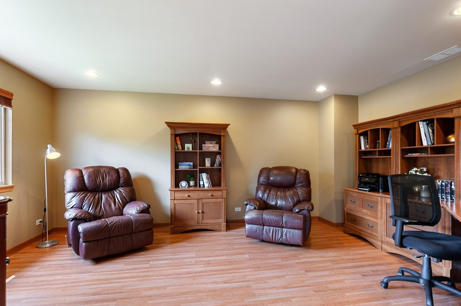 Real Estate Photography - 1448 Somerset, Mundelein, IL, 60060 - Sitting Room/Office
