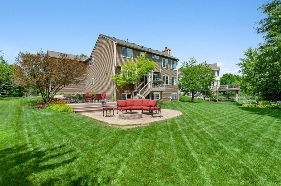 Real Estate Photography - 1448 Somerset, Mundelein, IL, 60060 - Rear View