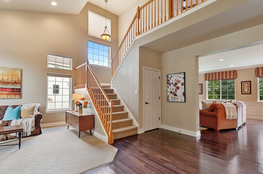 Real Estate Photography - 1448 Somerset, Mundelein, IL, 60060 - Staircase