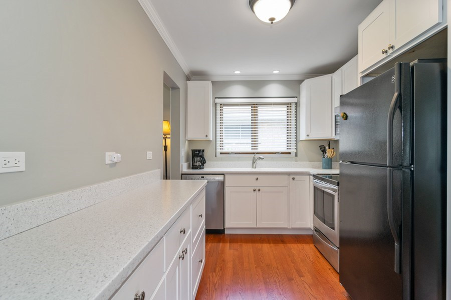 Real Estate Photography - 646 E Clarendon Ave, Arlington Heights, IL, 60004 - Kitchen