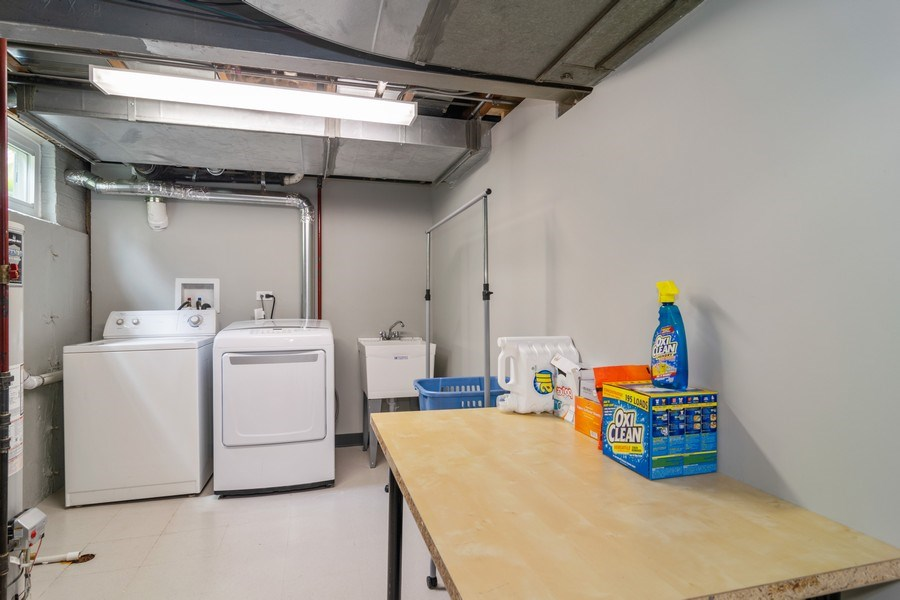 Real Estate Photography - 646 E Clarendon Ave, Arlington Heights, IL, 60004 - Laundry Room