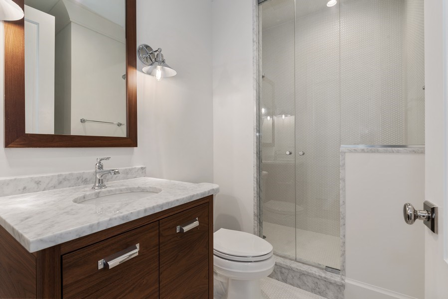 Real Estate Photography - 1942 N Mohawk, Chicago, IL, 60614 - 4th Bathroom