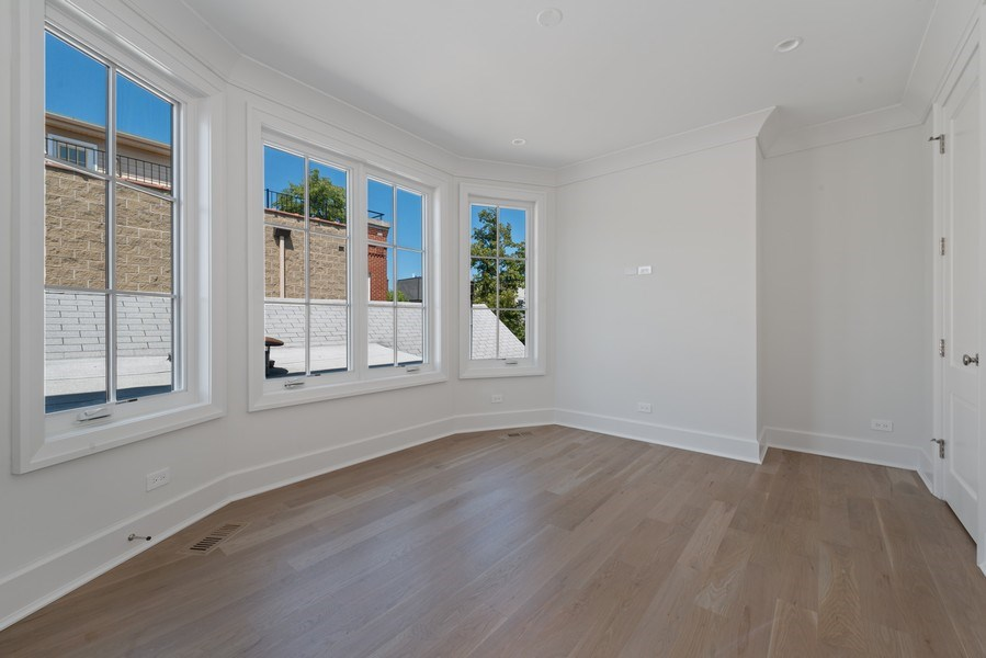 Real Estate Photography - 1942 N Mohawk, Chicago, IL, 60614 - 4th Bedroom