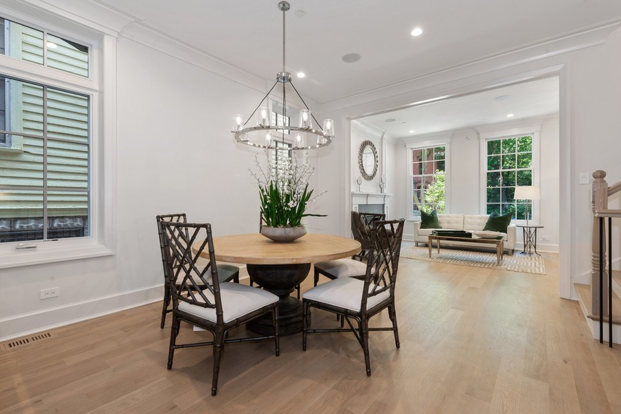 Real Estate Photography - 1942 N Mohawk, Chicago, IL, 60614 - Dining Room