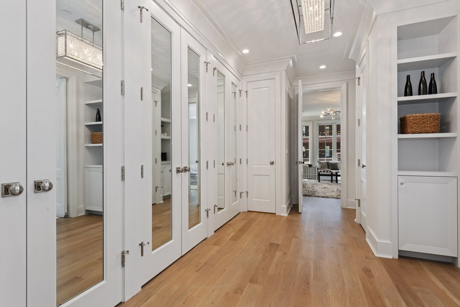 Real Estate Photography - 1942 N Mohawk, Chicago, IL, 60614 - Master Bedroom Closet