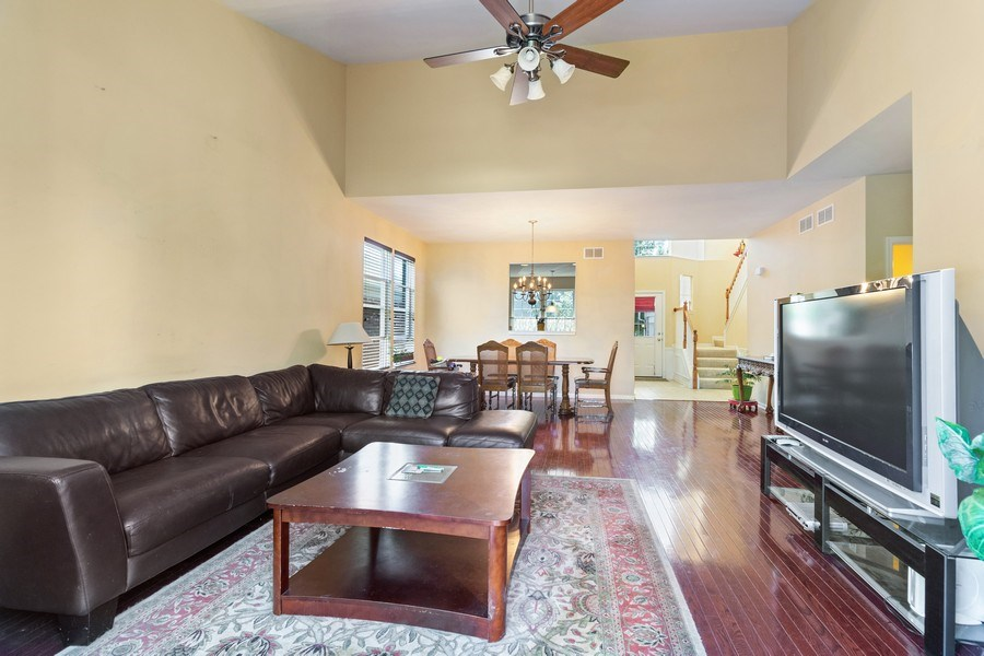 Real Estate Photography - 9252 Dunmore Dr, Orland Park, IL, 60462 - Living Room