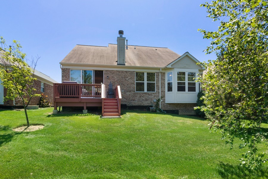 Real Estate Photography - 9252 Dunmore Dr, Orland Park, IL, 60462 - Rear View
