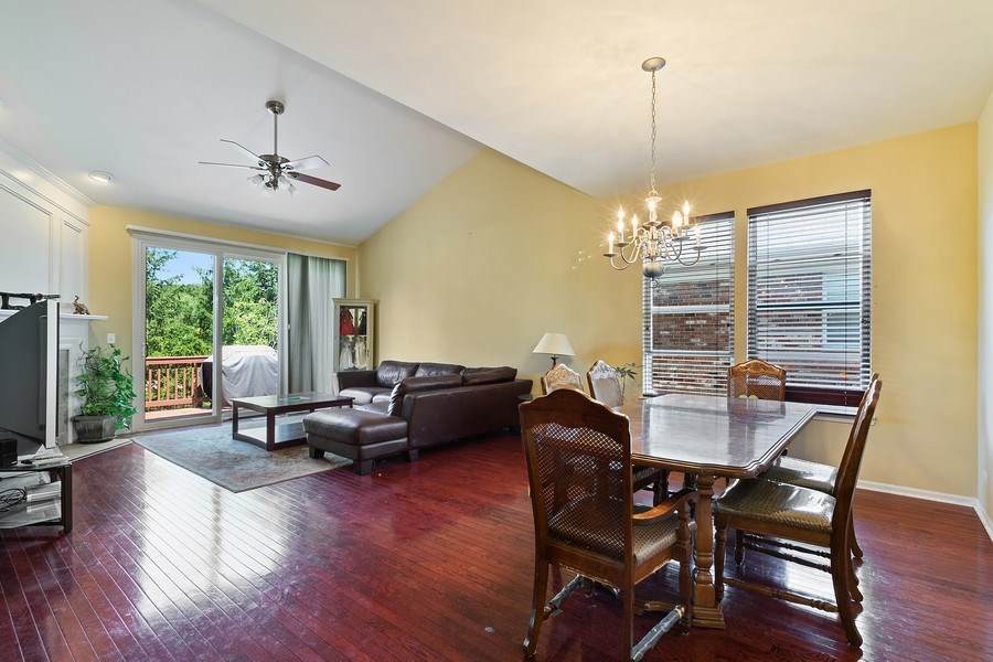 Real Estate Photography - 9252 Dunmore Dr, Orland Park, IL, 60462 - Living Room / Dining Room