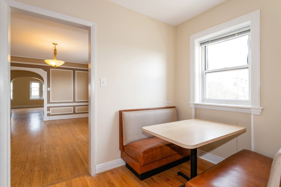 Real Estate Photography - 6014 N Francisco, Unit 3, Chicago, IL, 60659 - Breakfast Area