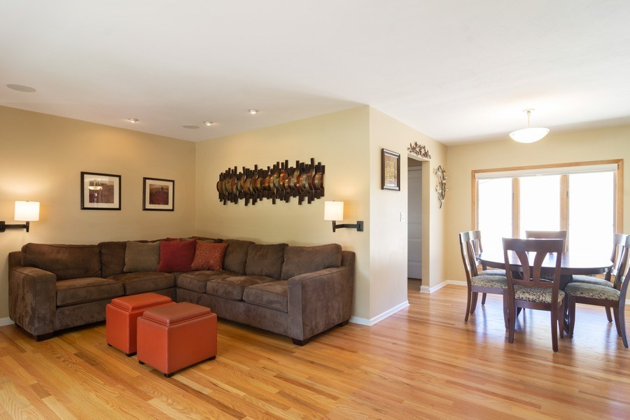 Real Estate Photography - 1911 N Burke, Arlington Heights, IL, 60005 - Living Room / Dining Room