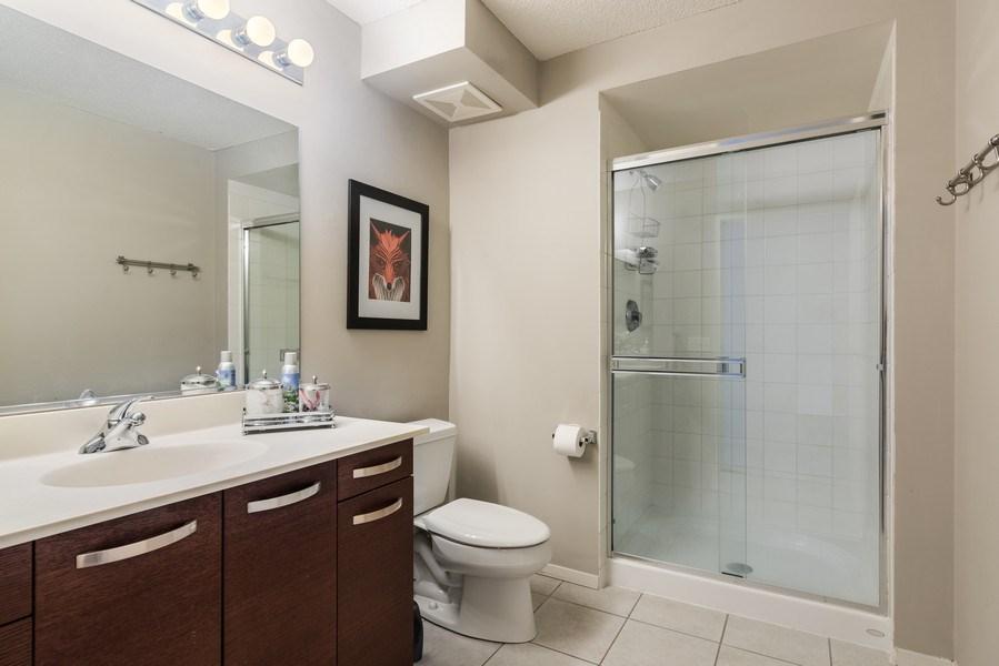 Real Estate Photography - 800 Elgin Rd, 1519, Evanston, IL, 60201 - Master Bathroom