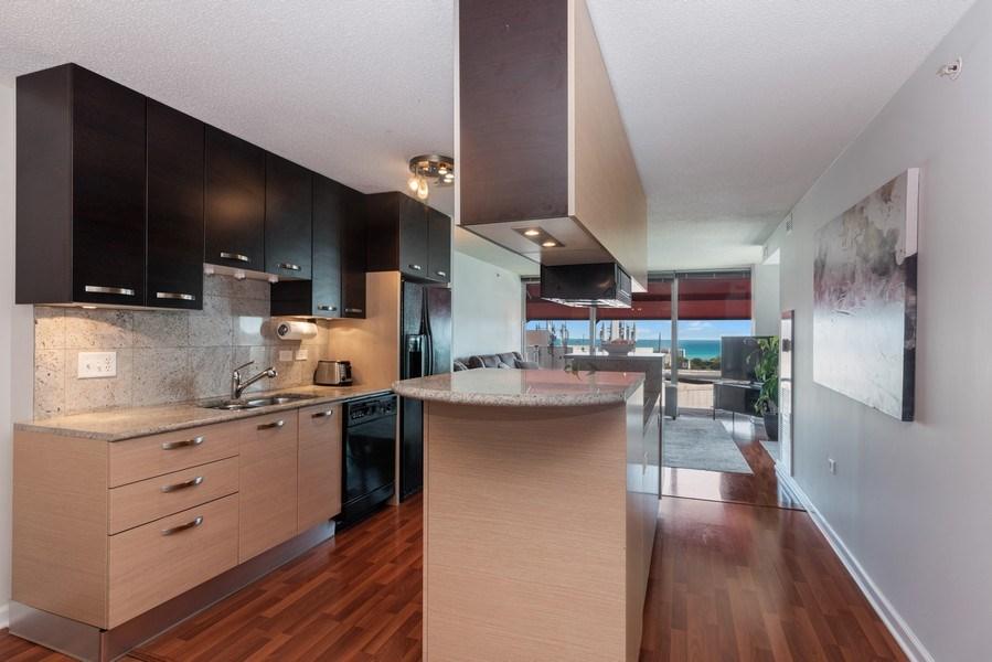 Real Estate Photography - 800 Elgin Rd, 1519, Evanston, IL, 60201 - Kitchen