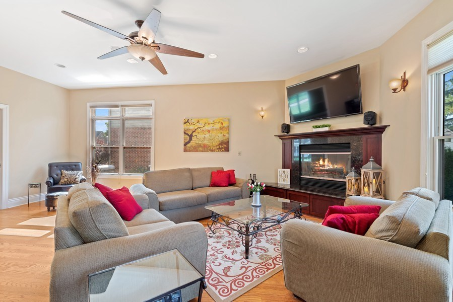 Real Estate Photography - 1784 Central Road, Glenview, IL, 60025 - Living Room