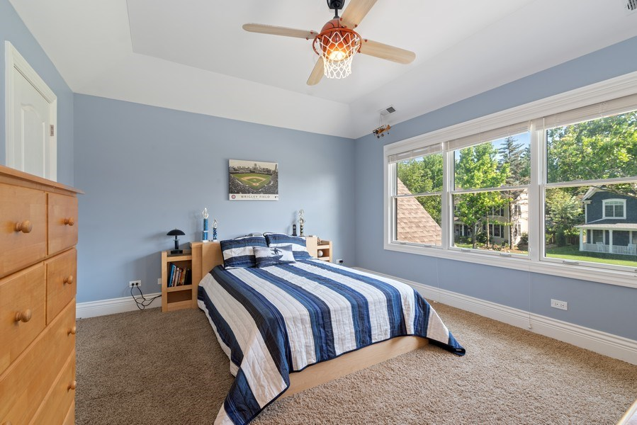 Real Estate Photography - 1784 Central Road, Glenview, IL, 60025 - 2nd Bedroom