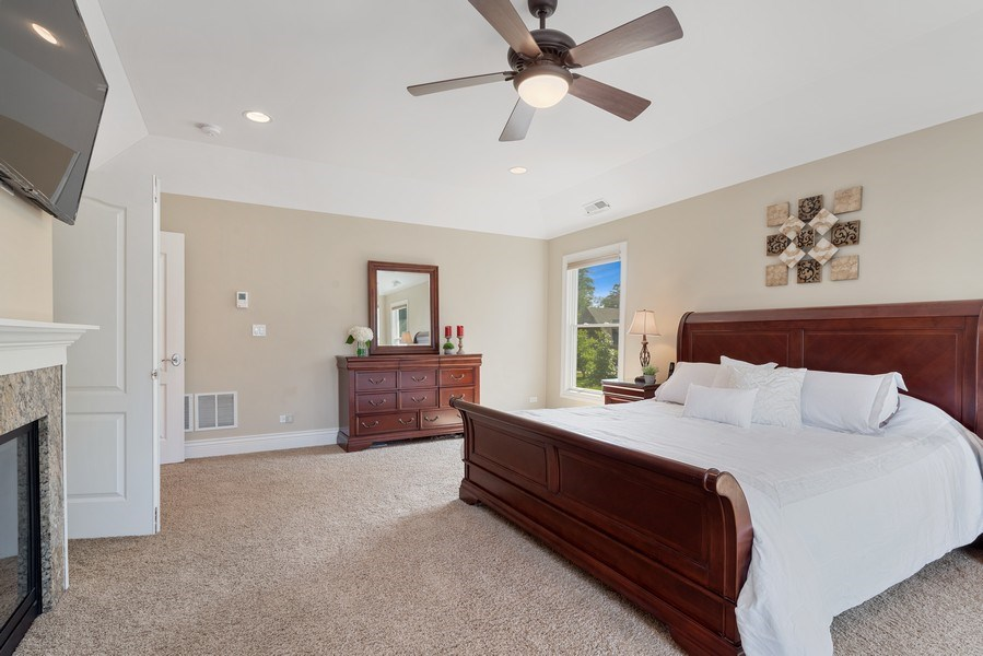 Real Estate Photography - 1784 Central Road, Glenview, IL, 60025 - Master Bedroom