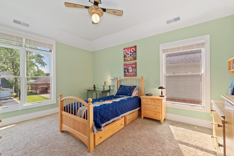 Real Estate Photography - 1784 Central Road, Glenview, IL, 60025 - Bedroom
