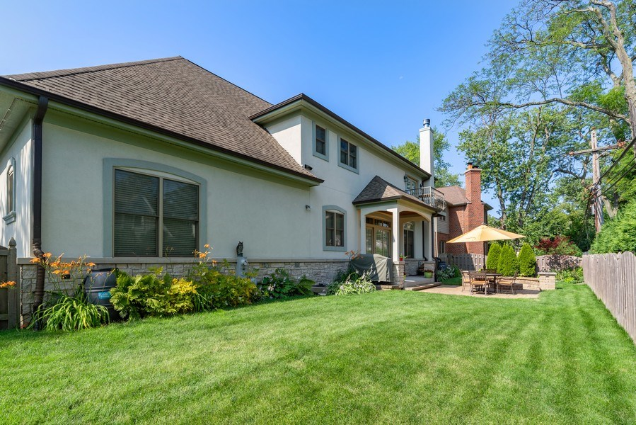 Real Estate Photography - 1784 Central Road, Glenview, IL, 60025 - Back Yard