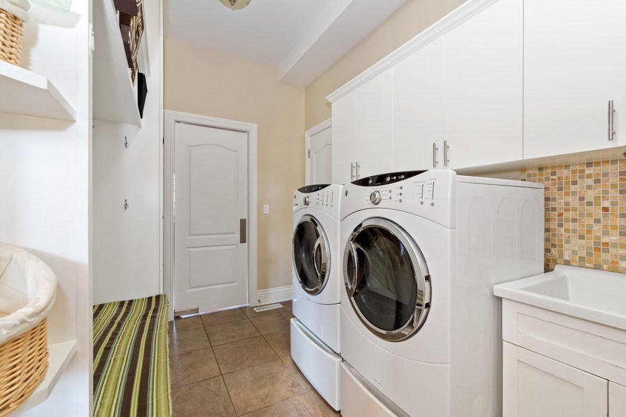Real Estate Photography - 1784 Central Road, Glenview, IL, 60025 - Laundry Room